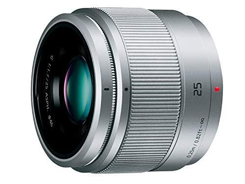パナソニック Panasonic(パナソニック) Panasonic(パナソニック) カメラレンズ LUMIX G 25mm F1.7 ASPH.マイクロフォーサーズマウントシルバー
