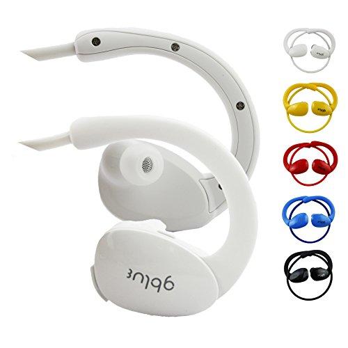 Emartbuy® Noza Tec 9 Zoll / Noza Tec 7 Zoll Android Tablet PC Gblue Weiß S80 Bluetooth Sports Kopfhörer Kabellos In Ear Stereo Freisprechen mit Mikrofon für