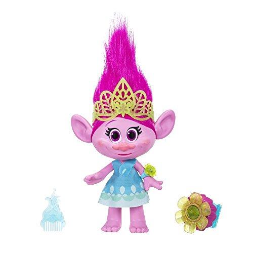 Hasbro B6568100 - Trolls Kuschelzeit Poppy Figur