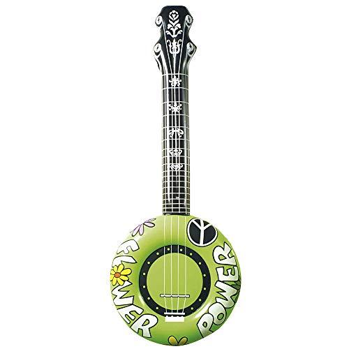 Widmann–AC1711–Guitarra Hippie hinchable varios 100cm , Modelos/colores Surtidos, 1 Unidad