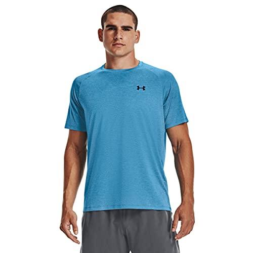Under Armour Men's Tech 2.0 Short-Sleeve T-Shirt , Radar Blue (422)/Black, X-Large