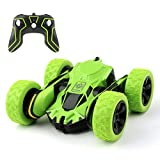 Amicool RC Toy, Tech Remote Controlled Vehicles Stunt Car, Green, Men: One Size