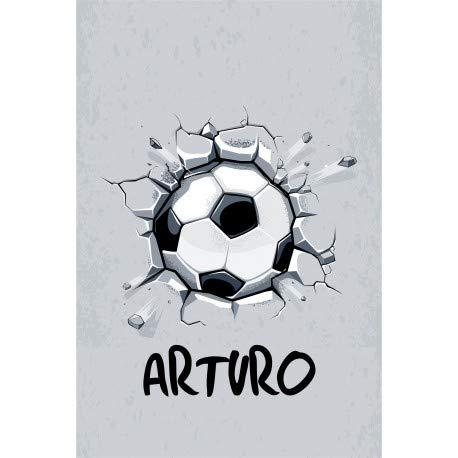 Estor Iroa Digital Pelota Futbol ¡ESTORES ENROLLABLES TRANSLUCIDO O Screen Personalizado con Nombre! (60X100, Tejido Translucido)