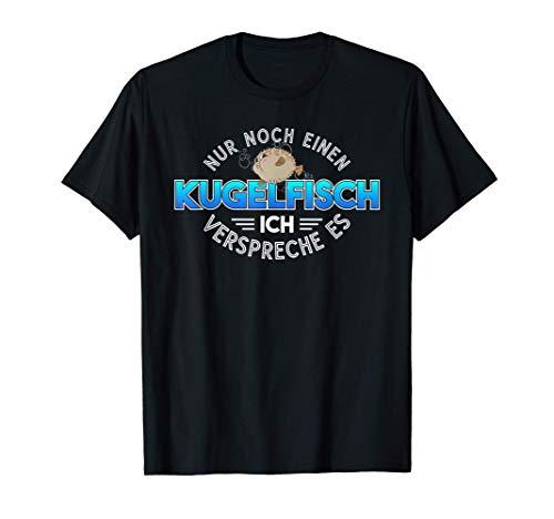 Aquaristik Meeresfisch Fisch Kugelfisch T-Shirt