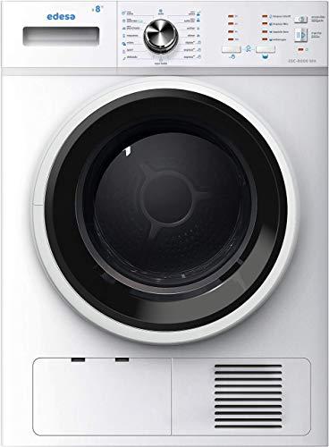 Edesa ESC-8000 WH Independiente Carga frontal Blanco 8 kg B - Secadora (Independiente, Carga frontal, Condensación, Blanco, Botones, Giratorio, 109 L)