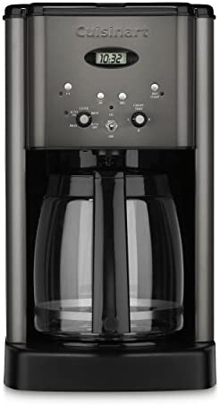 Cuisinart DCC 1200BKS 12 Cup Brew Central Coffee Maker Black Stainless Steel product image