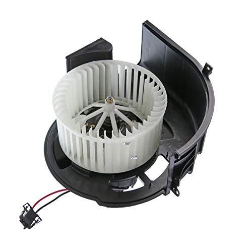 A-Premium HVAC Heater Blower Motor with Fan Cage Replacement for BMW X5 2007-2013 X6 2008-2014