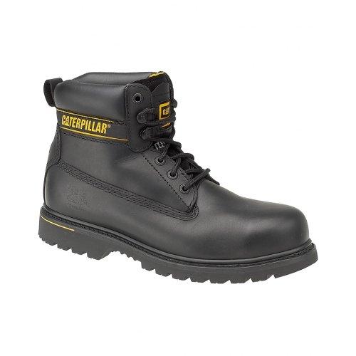 Caterpillar - Botas de Seguridad Trabajo Holton SB para Chico Hombre (40 EU) (Negro)