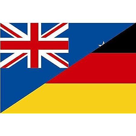 U24 Aufkleber Neuseeland Flagge Fahne 8 X 5 Cm Autoaufkleber Sticker Auto