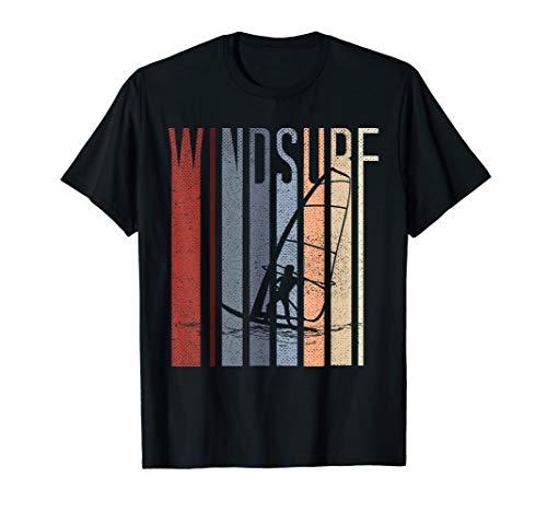 Vintage Windsurf T Shirt - Retro Vintage Windsurfing Tee