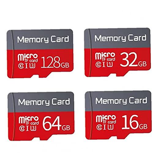 MaylFre Mini Tarjetas de Memoria portátil 128 GB Mini Lector de Tarjetas SD con Mini Adaptador SD para cámara Herramienta de Vida práctica portátil