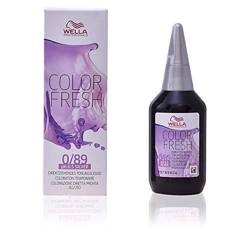 Wella Professionals Color Fresh 0/89 perl-cendre, 1er Pack (1 x 75 ml)