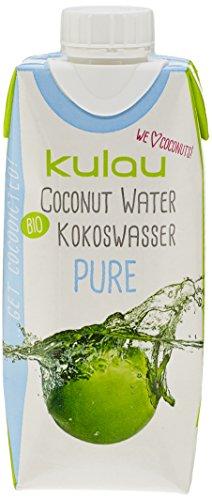 Kulau Pure Eau de Coco Bio 330 ml - Lot de 4