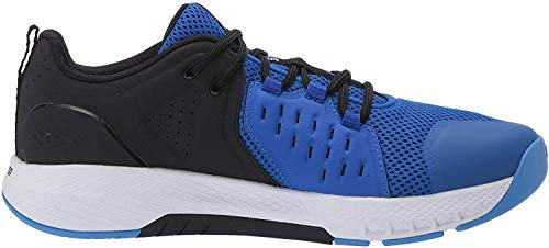 Under Armour Men's Charged Commit 2.0 Cross Trainer, Versa Blue (402)/Black, 11.5