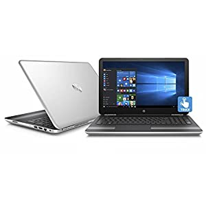 "HP Pavilion 15.6"" HD SVA BrightView Touchscreen Gaming Laptop PC, Intel i7-6500U 2.5GHz 12GB DDR4 RAM 1TB HDD NVIDIA GeForce 940MX Backlit Keyboard DVD+/-RW B&O PLAY USB 3.0 Windows 10 Silver"