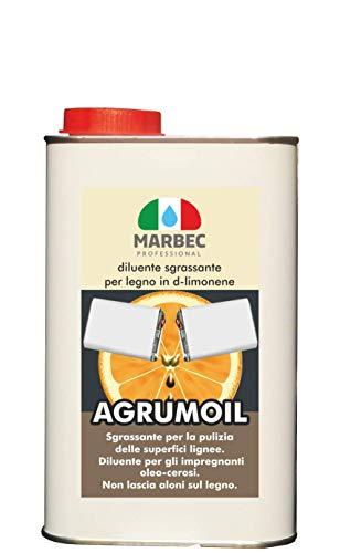 Marbec - AGRUMOIL 1LT | Diluyente desengrasante para madera