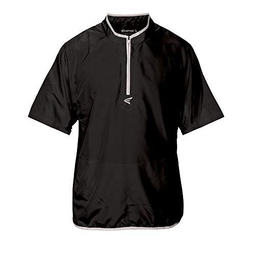 EASTON M5 CAGE Short Sleeve Jacket, Adult, Large, Navy