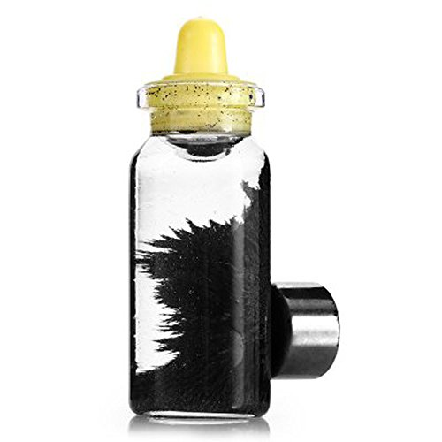 PARUYU Kreative Magnetpulver Nippelflasche + Magnet Dekompressionsspielzeug für Kinder