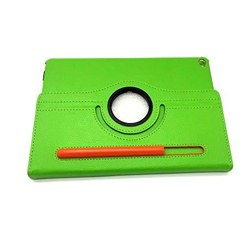 IPAD penhouder plat holster Ipad pro11 roterend holster met penhouder pen beschermhoes-groen