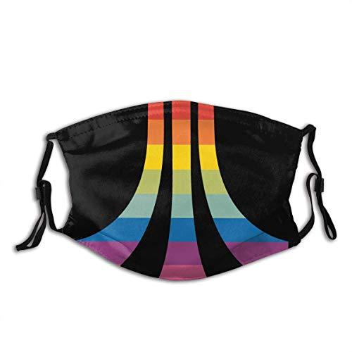 Atari Mundschutz Schützen Sie Bequeme atmungsaktive Sicherheit Luftnebel Outdoor Fashion Half Face Shield - für Mann und Frau