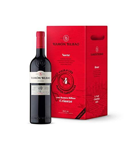 Ramón Bilbao Crianza - Vino Tinto D.O Rioja - Caja 4 botellas de 0,75L