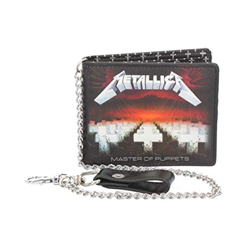 Nemesis Now B4684N9 Metallica Master of Puppets Geldbörse, schwarz, PU, 11 cm