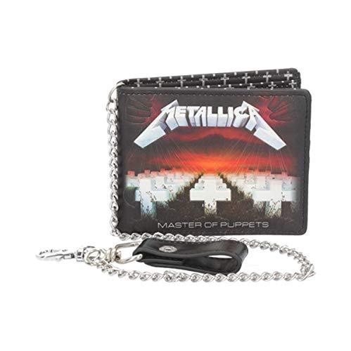 Nemesis Now Metallica Master of Puppets Geldbörse, Polyurethan, 11 cm, Schwarz