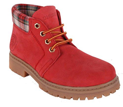 DIESEL - Boots Femmes - Rouge, 37