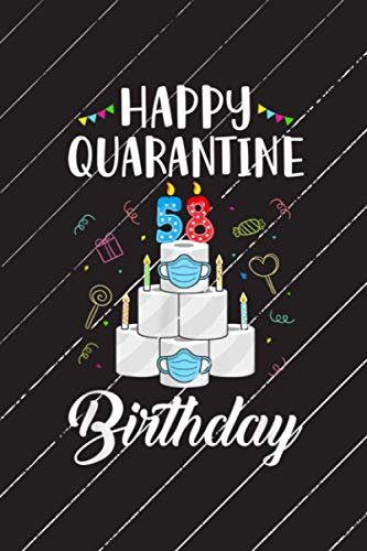 58th Birthday 1962 Happy Quarantine Birthday Getting Things Done Planner