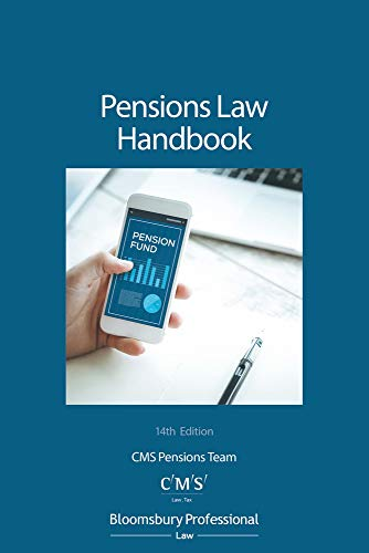 Compare Textbook Prices for Pensions Law Handbook 14 Edition ISBN 9781526507471 by CMS Pensions Team