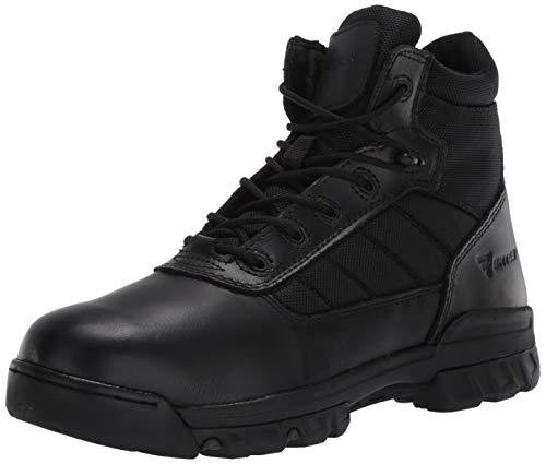 """Bates Men's 5"""" Tactical Sport Side Zip Industrial Shoe, Black, 11"""