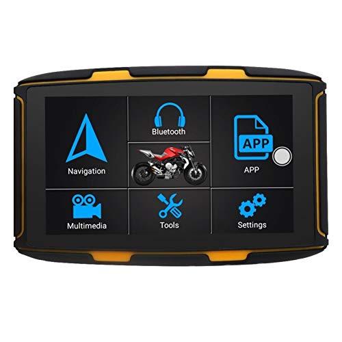 Motocicleta de navegación por satélite GPS Jinete navegación GPS Moto Moto 5 Pulgadas a Prueba de Agua IPS Pantalla resistiva Android 6.0 RAM1G Flash 16G mapas Libres