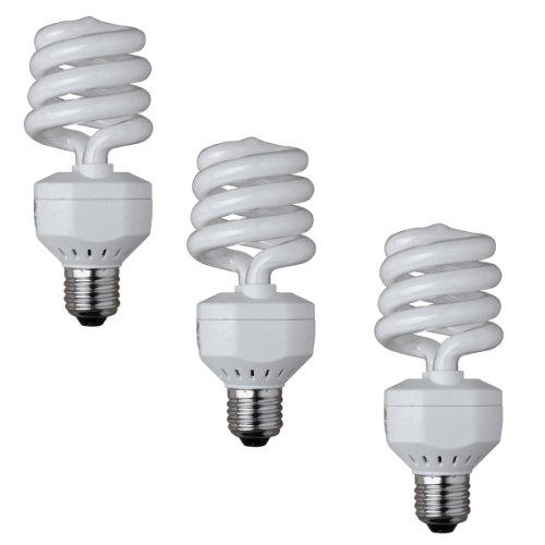 Walimex Spiral-Tageslichtlampe (25 W, 3er Set)