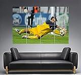 Gianluigi Buffon Juventus Best Goal Wall Art Poster A0