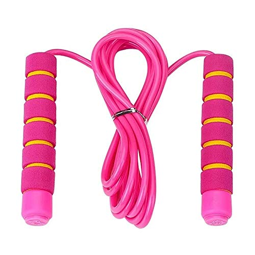 YuxahiugTSENG Ajustable de la Cuerda de Salto Principiantes Cuerda Portable Durable de la Aptitud del Ejercicio de Saltar la comba Pérdida de Peso