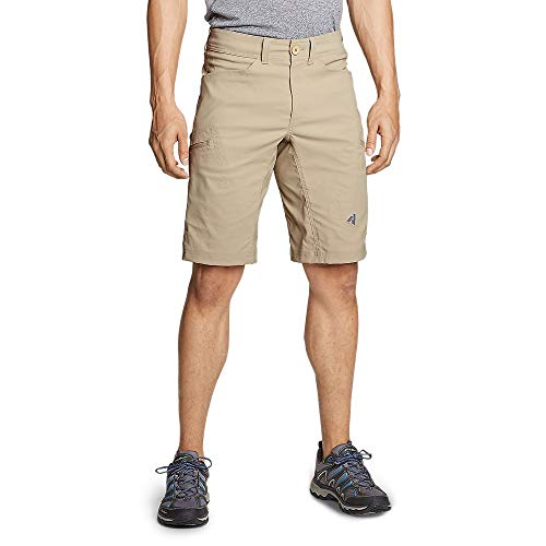 Eddie Bauer Men's Guide Pro Shorts, Lt Khaki Regular 36