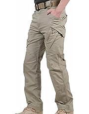 Reebow Gear - Pantalones estilo militar sin cinturón, para hombre
