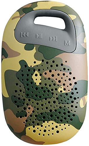 Mopoq Mini Wireless Bluetooth Lautsprecher - Tragbare Subwoofer Outdoor Sports Mini / 60mm X 29mm X 100mm Lautsprecher (Color : Camouflage)