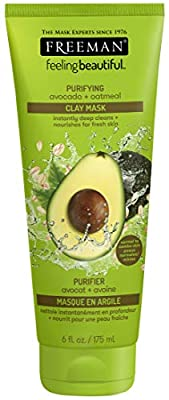 Freeman Feeling Beautiful Purifying Avocado and Oatmeal Clay Mask 175 ml from Freeman Beauty