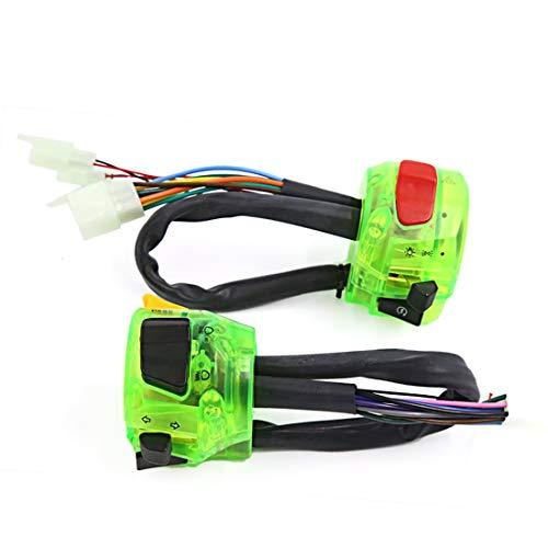 Interruptor de control combinado de luces de señalización para faros de arranque amarillos