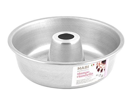 HABI Stampo per Ciambella, Alluminio, Grigio, 20x20x6 cm
