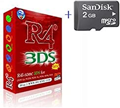Free Delivery R4I RTS+2GB memory sd card for NDSL 3DSLL