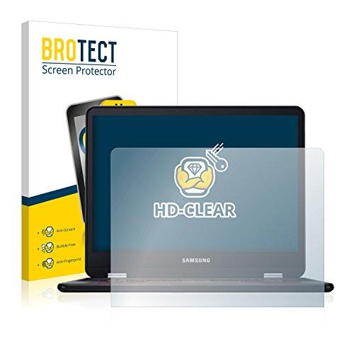 BROTECT Schutzfolie kompatibel mit Samsung Chromebook Pro (2 Stück) klare Bildschirmschutz-Folie