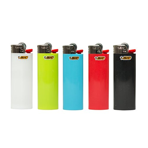 BIC Lot of 5 Mini Multi-colour Lighter Lot