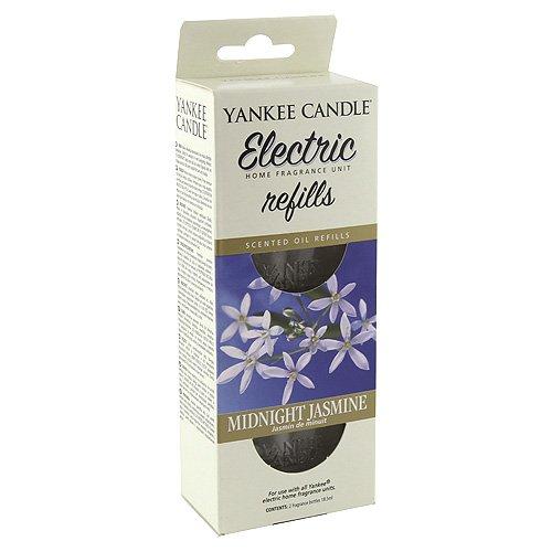 YANKEE CANDLE recharges pour diffuseur électrique « Jasmin de Minuit », Blanches