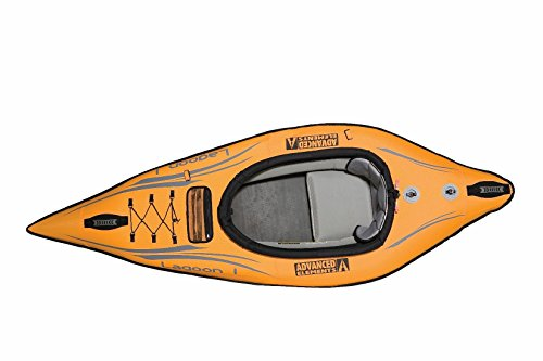 ADVANCED ELEMENTS Lagoon Inflatable Kayak with Carry Bag and Repair Kit