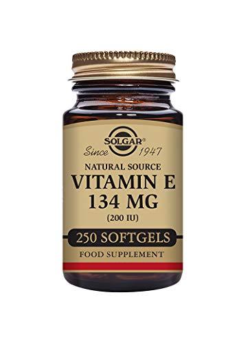 Solgar Vitamin E 134 mg (200 IU) Softgels - Pack of 250