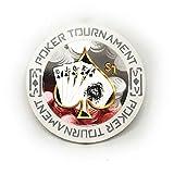 Fichas de póquer Tournament de alta calidad (100 unidades, 40 mm, 3 mm, 11,5...