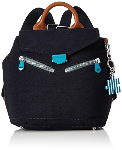 Kipling - On A Roll, Mochilas Mujer, Blau (Urban Blue), One Size