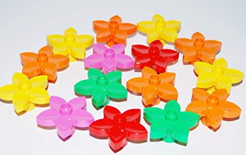LEGO® DUPLO® 15 Blumen / Blumenwiese in verschiedenen Farben